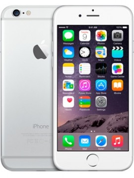 Apple iPhone 6 32GB Silver (MQ3K2)