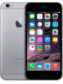 Apple iPhone 6 32GB Space Gray (MQ3D2)