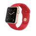 Apple Watch Sport 38mm Gold Aluminum Case with Producted RED Sport Band (MMEC2) - Новый распечатанный