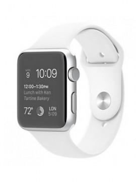 Apple Watch Sport 42mm Silver Aluminum Case with White Sport Band (MJ3N2) - Новый распечатанный