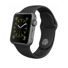 Apple Watch Sport 38mm Space Gray Aluminum Case with Black Sport Band (MJ2X2) - Новый распечатанный