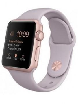 Apple Watch Sport 38mm Rose Gold Aluminum Case with Lavender Sport Band (MLCH2) CPO - Новый распечатанный