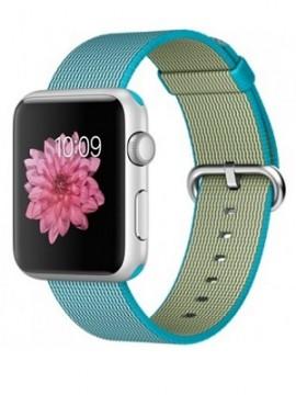 Apple Watch Sport 42mm Silver Aluminum Case with Scuba Blue Woven Nylon (MMFN2) - Новый распечатанный