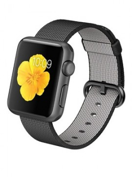 Apple Watch Sport 38mm Space Gray Aluminum Case with Black Woven Nylon (MMF62) - Новый распечатанный