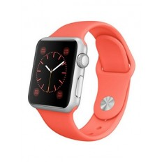 Apple Watch Sport 38mm Silver Aluminum Case with Pink Sport Band (MJ2W2) - Новый распечатанный
