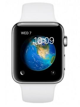 Apple Watch Series 2 42mm Stainless Steel Case with White Sport Band (MNPR2) - Новый распечатанный