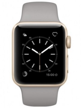 Apple Watch Series 2 38mm Gold Aluminum Case with Concrete Sport Band (MNP22) - Новый распечатанный