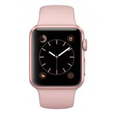 Apple Watch Series 2 38mm Rose Gold Aluminum Case with Pink Sand Sport Band (MNNY2) - Новый распечатанный