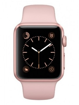 Apple Watch Series 2 38mm Rose Gold Aluminum Case with Pink Sand Sport Band (MNNY2) - Новый распечатанный