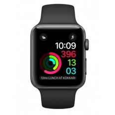 Apple Watch Series 2 38mm Space Gray Aluminum Case with Black Sport Band (MP0D2) - Новый распечатанный