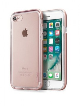 LAUT EXO-FRAME Rose Gold (LAUT_IP7_EX_RG) for iPhone 7