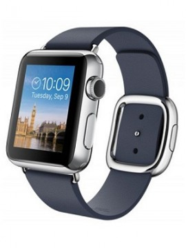 Apple Watch 38mm Stailnless Steel Case with Midnight Blue Modern Buckle (MJ332) - Новый распечатанный