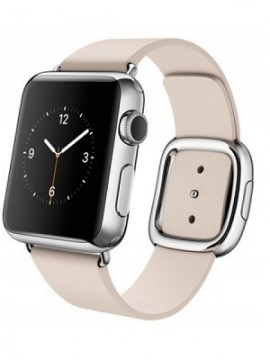 Apple Watch 38mm Stailnless Steel Case with Soft Pink Modern Buckle (MJ362) - Новый распечатанный