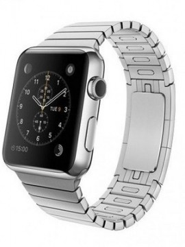 Apple Watch 42mm Stainless Steel Case with Stainless Steel Link Bracelet (MJ472) - Новый распечатанный