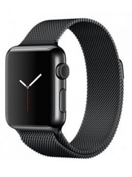 Apple Watch 38mm Space Black Stainless Steel Case Space Black Milanese Loop (MMFK2) - Новый распечатанный