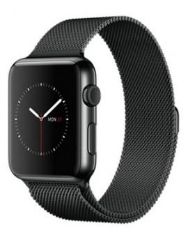 Apple Watch 42mm Space Black Stainless Steel Case with Space Black Milanese Loop (MMG22) - Новый распечатанный