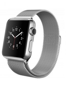 Apple Watch 38mm Stailnless Steel Case with Milanese Loop (MJ322) - Новый распечатанный