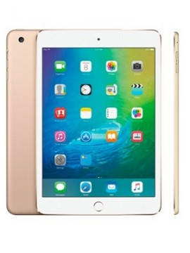 Apple iPad mini 4 7.9 with Retina display Wi-Fi + 4G 16gb Gold (MK882)