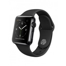Apple Watch 38mm Space Black Stainless Steel Case with Black Sport Band (MLCK2) - Новый распечатанный