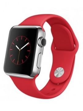Apple Watch 38mm Stainless Steel Case with Product RED Sport Band (MLLD2) - Новый распечатанный