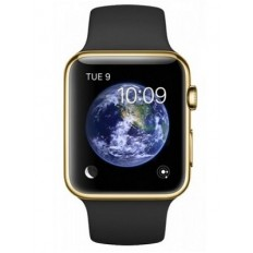 Apple Watch Edition 42mm 18-Karat Yellow Gold Case with Black Sport Band (MJ8Q2) - Новый распечатанный