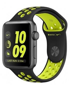 Apple Watch Nike+ 42mm Space Gray Aluminum Case with Black/Volt Nike Sport Band (MP0A2) - Новый распечатанный