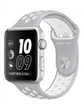 Apple Watch Nike+ 38mm Silver Aluminum Case with Silver/White Nike Sport Band (MNNQ2) - Новый распечатанный