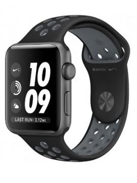 Apple Watch Nike+ 42mm Space Gray Aluminum Case with Black/Cool Gray Nike Sport Band (MNYY2) - Новый распечатанный